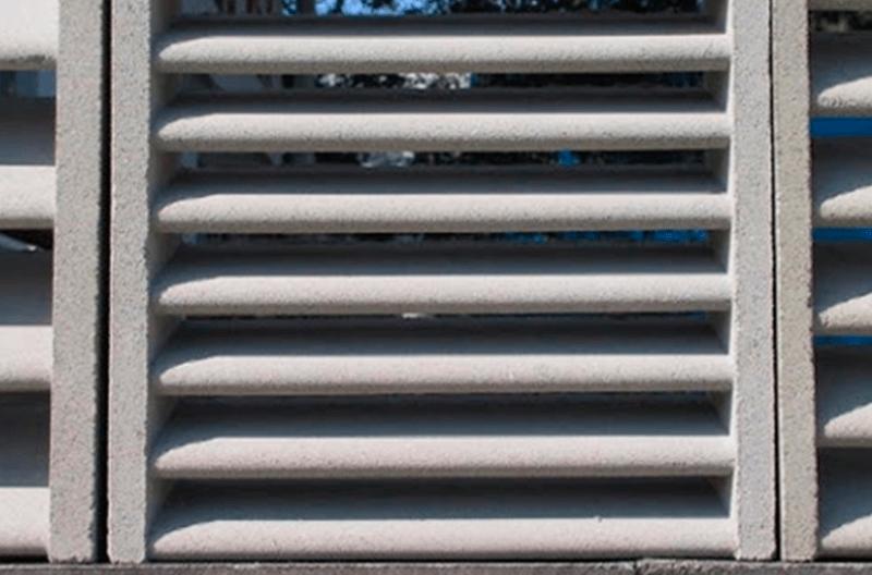 Venezianas de Concreto