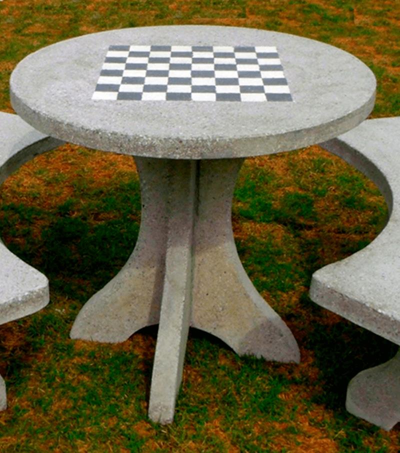 Mesa de Concreto