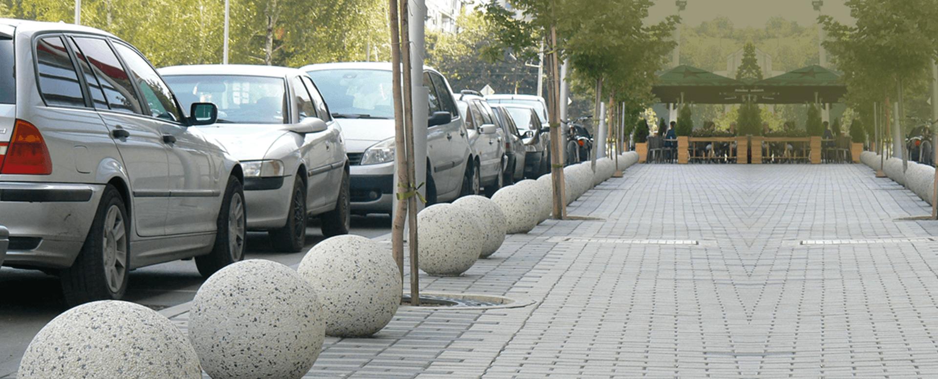 Bate Rodas de Concreto