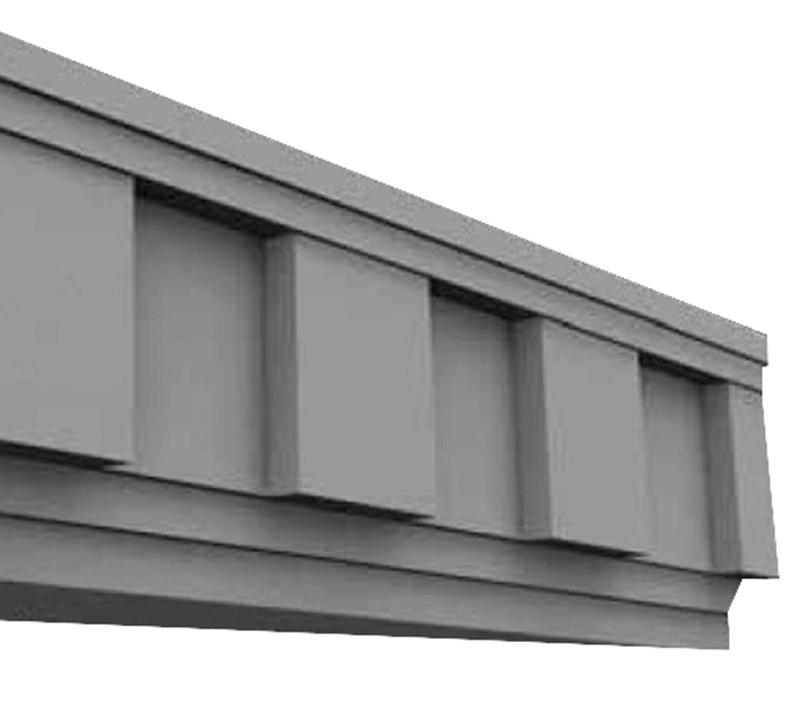 Cimalha de Concreto